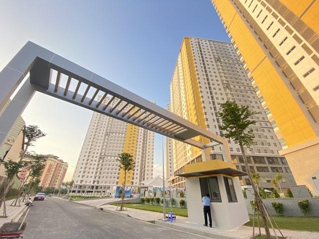 Giá căn hộ City Gate 2 - Cổng ra City Gate 2
