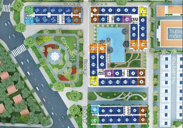 Giá bán City Gate 2 -Mặt bằng căn hộ