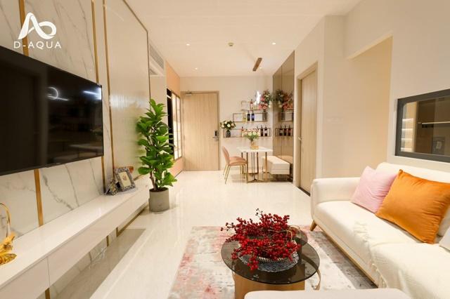 Nhà mẫu chi tiết căn hộ 2 phòng ngủ 69m2 dự án D-Aqua