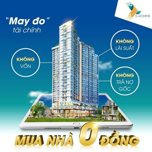 Toàn cảnh dự án D Homme 765 Hồng Bàng, Quận 6