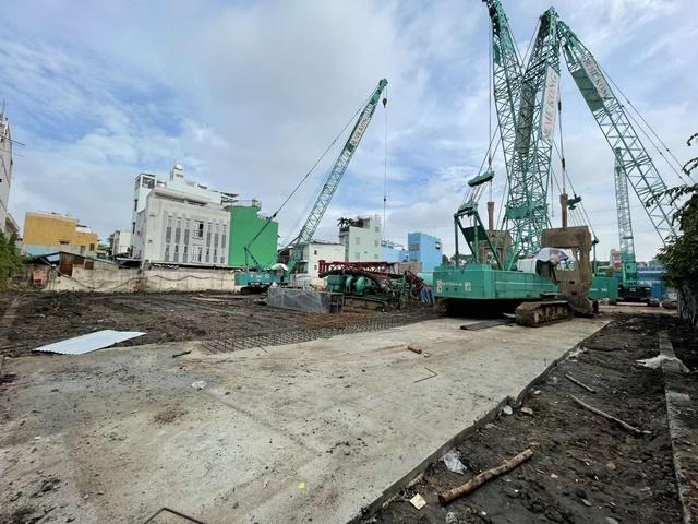 Cập nhật tiến độ xây dựng D-Homme Quận 6 tháng 07 năm 2021