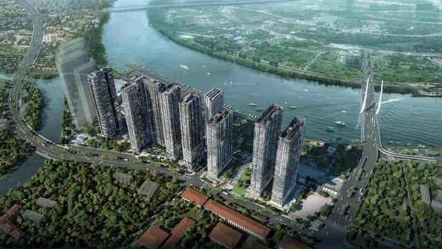 Tổng quan dự án Marina Ba Son Sài Gòn nhìn từ trên cao