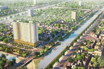 Toàn cảnh dự án căn hộ Aurora Residences chủ đầu tư DRH Holding