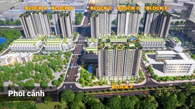 Mặt bằng căn hộ City Gate 5 Võ Văn Kiệt