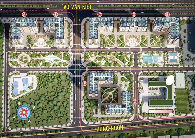 Dự án City Gate 5 - Mặt bằng tầng