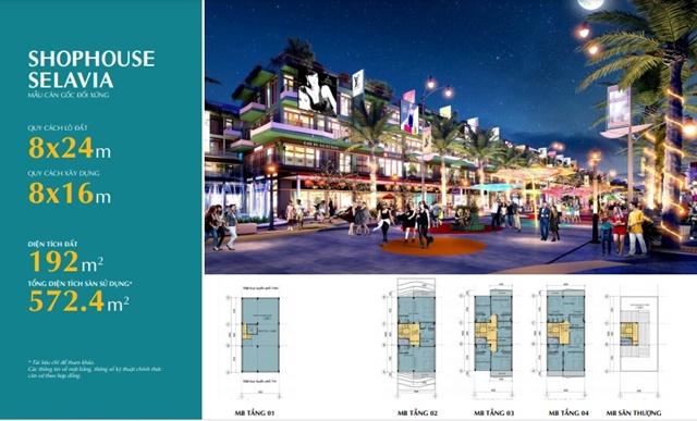 Shophouse Selashine Phú Quốc