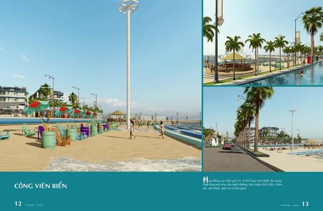 Công viên vẻn biển với bãi cát trắng mịn