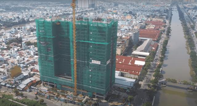 Tiến độ xây dựng căn hộ Aurora Quận 8