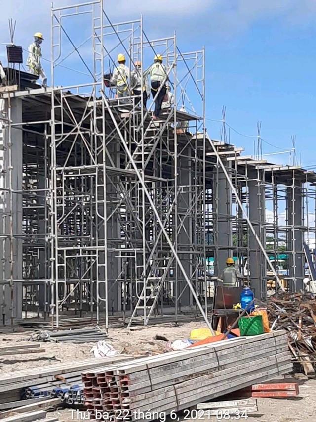 Thi công dự án Selavia Vịnh Đầm - Tháng 6/2021