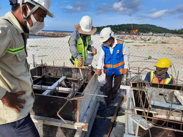 Kỹ thuật giám sát đảm bảo tiến độ Selavia Phú Quốc