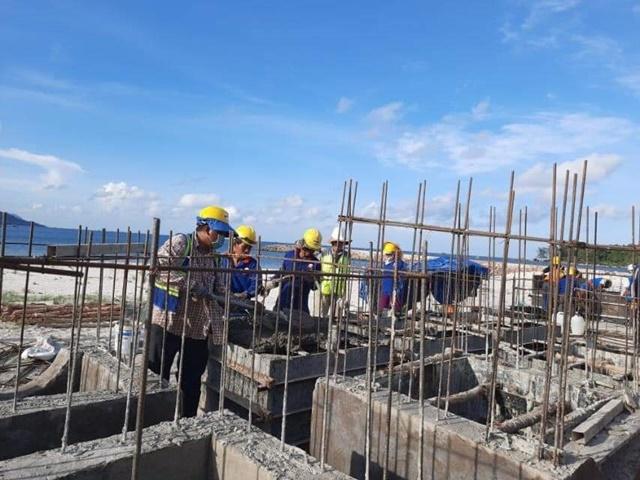 Tiến độ Selavia Phú Quốc -Xây dựng nhà phố