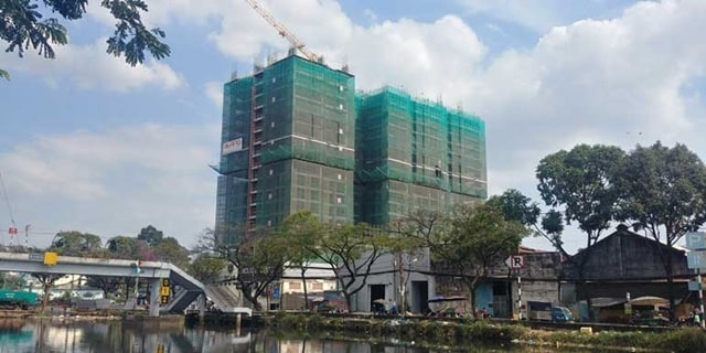 Dự án sở hữu 2 mặt View sông đắc địa