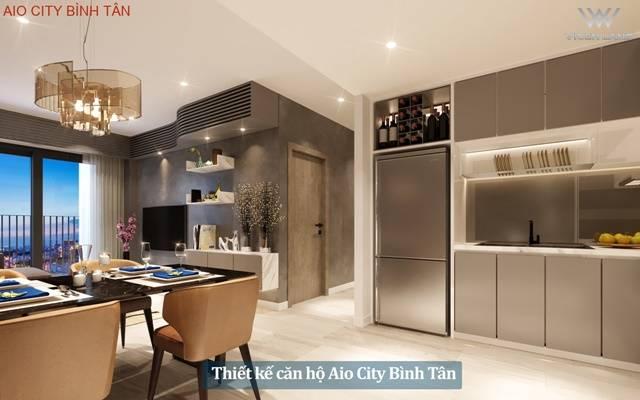 Nhà mẫu căn hộ Aio City Bình Tân