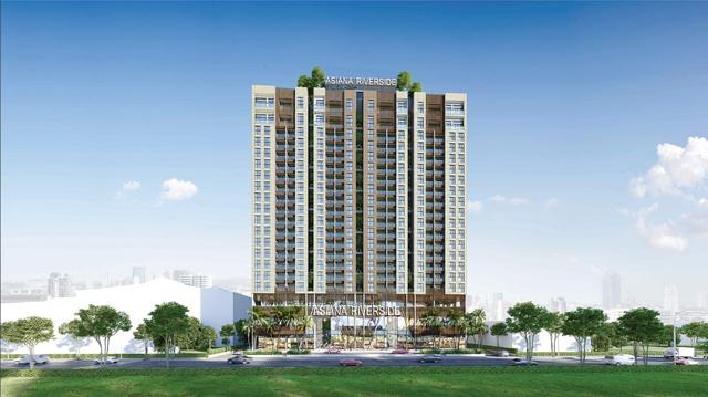 Hình ảnh thiết kế dự án Asiana Riverside
