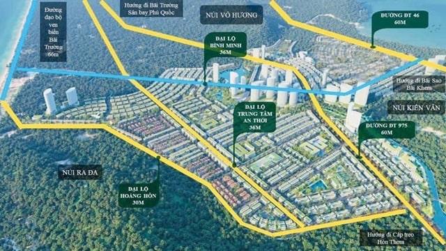 Vị trí đắc địa của dự án Meyhomes Phú Quốc