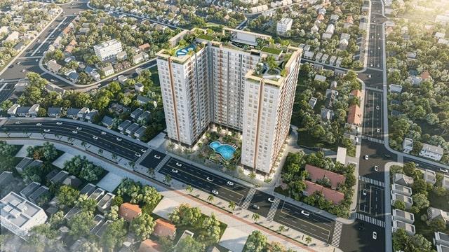 Phối cảnh dự án căn hộ Tecco Home An Phú Thuận An Bình Dương