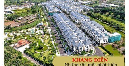 Khang Điền và những cột mốc phát triển bất động sản