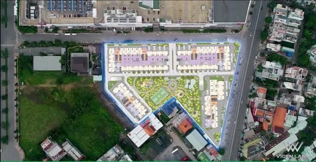 Mặt bằng tổng quan toàn dự án Aio Tên Lửa Bình Tân chủ đầu tư Hoa Lâm