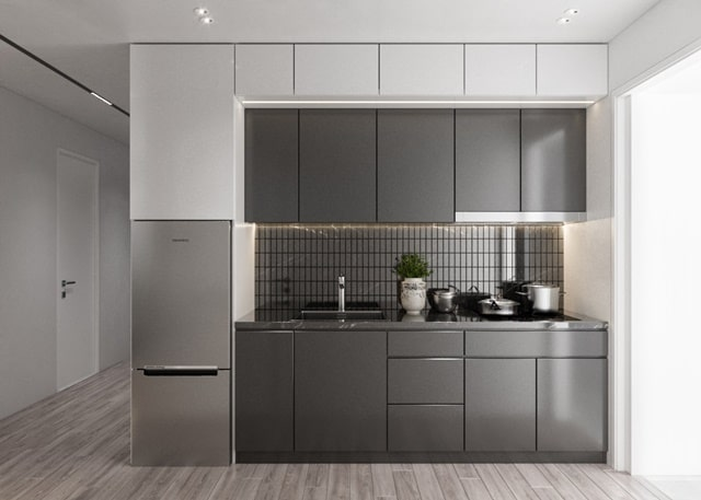 Thiết kế Bếp căn hộ Tecco Felice Home