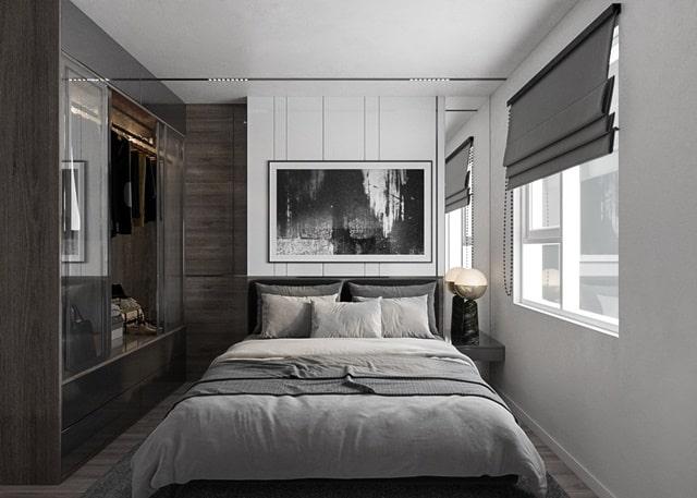 Thiết kế phòng ngủ căn hộ Tecco Home Thuận An