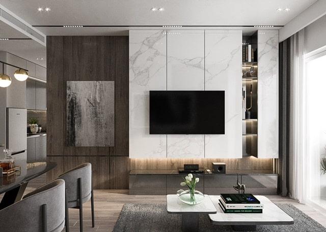 Nhà mẫu dự án căn hộ Tecco Home Thuận An Bình Dương