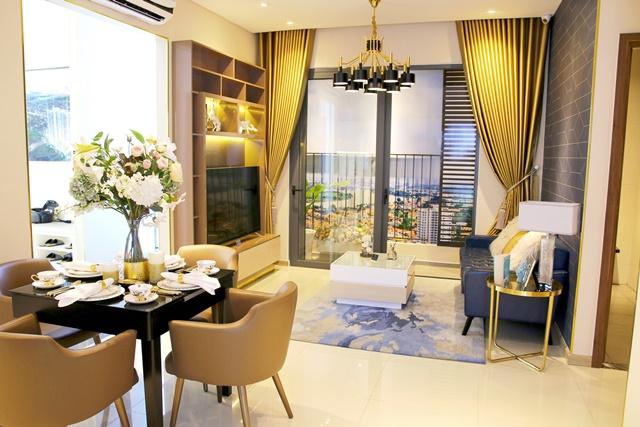 Hình ảnh thiết kế căn hộ mẫu 2 phòng ngủ Pegasuite 2