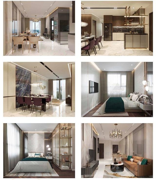 Thiết kế căn hộ chung cư Opal City Bình Dương