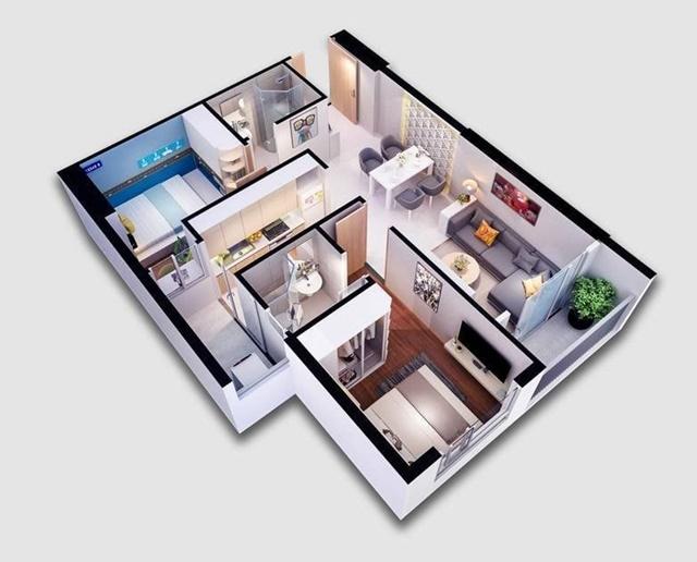 Mặt bằng thiết kế căn hộ Opal City View