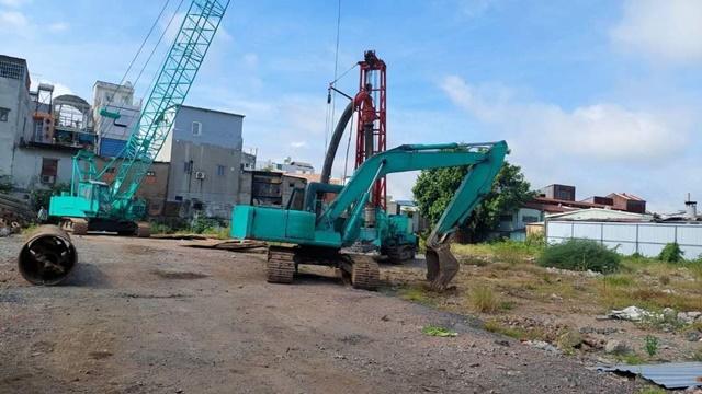 Tiến độ xây dựng dự án D Aqua Quận 8