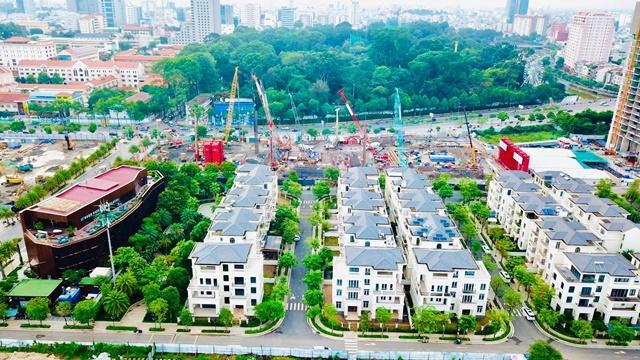 Tiến độ Grand Marina Sài Gòn