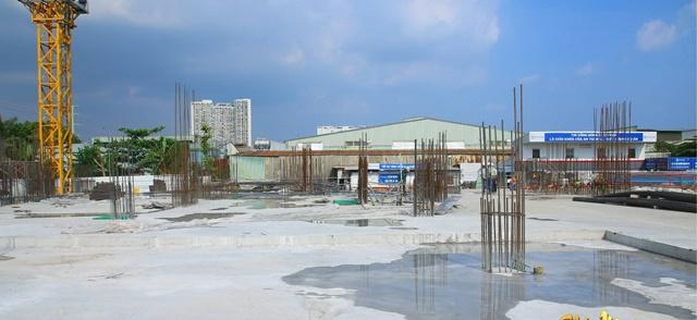 Cập nhật tiến độ xây dựng The Pegasuite tháng 01 năm 2021