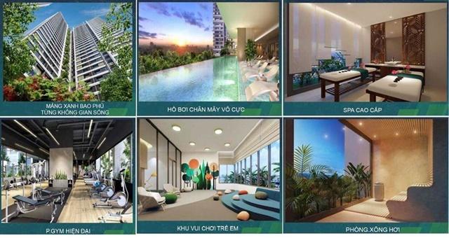 Hình ảnh tiện ích dự án căn hộ Opal City View
