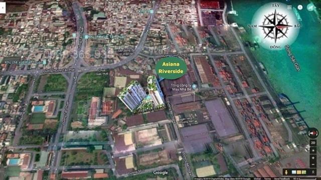Vị trí đắc địa của khu dự án Asiana Riverside