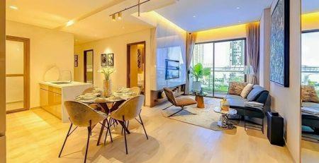 Hình ảnh thiết kế nhà mẫu căn hộ Moonlight Bình Tân 2 phòng ngủ
