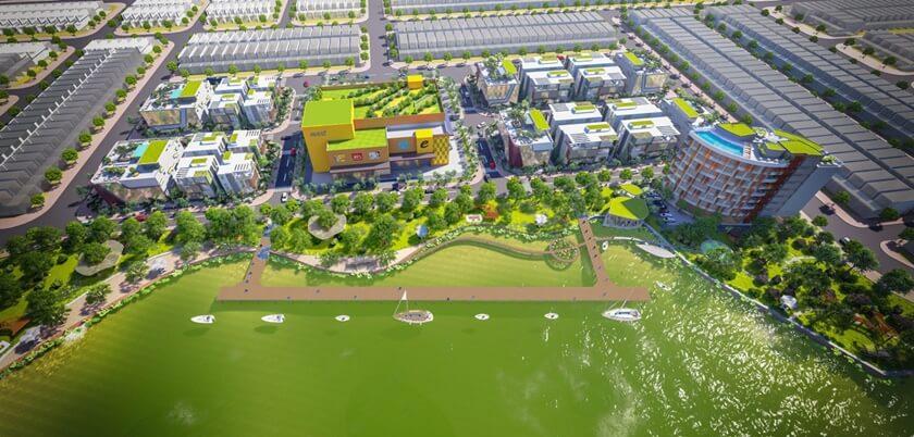 Toàn cảnh dự án Bạc Liêu Riverside Commercical Zone chủ đầu tư 577