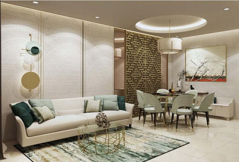 Nhà mẫu căn hộ 3 phòng ngủ dự án D Homme