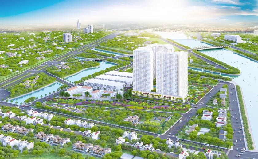 Toàn cảnh dự án căn hộ City Gate 3 Quận 8 do công ty 577 làm chủ đầu tư