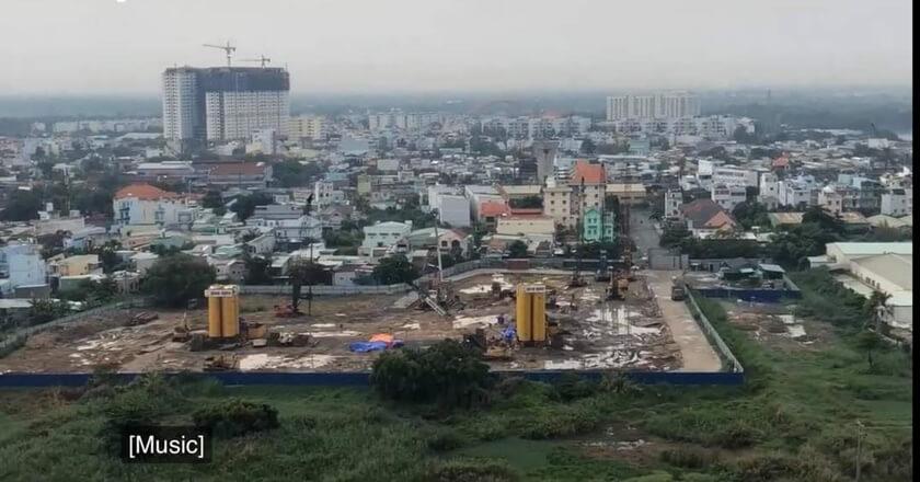 Toàn cảnh công trương dự án City Gate 3 Quận 8 - Chủ đầu tư 577