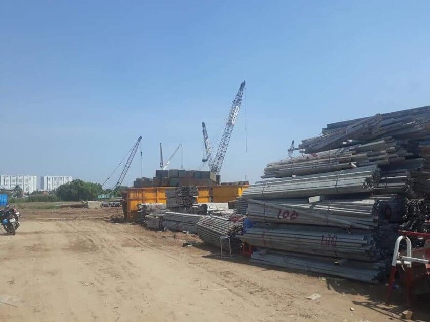 Tiến độ dự án Gate 3 Quận 8 chủ đầu tư 577