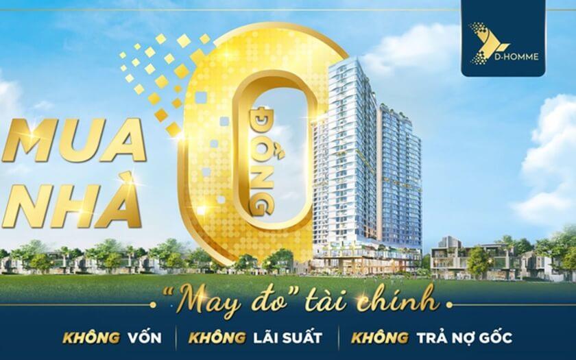 Chính sách mua nhà 0 Đồng D-Homme mùa dịch