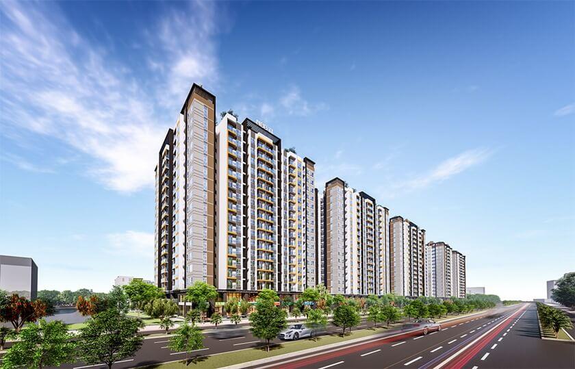 Phôi cảnh dự án City Gate 5 Bình Chánh - Chủ đầu tư 577 (NBB)