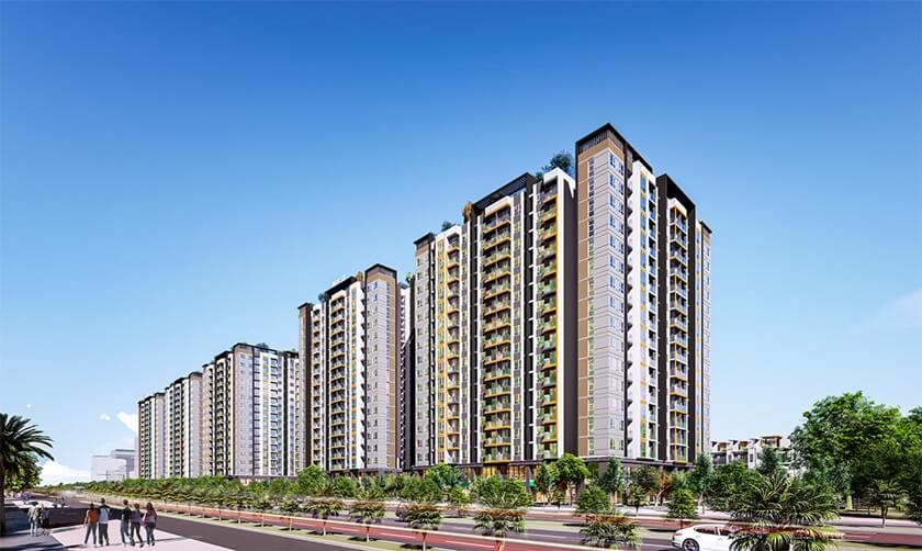 Dự án City Gate 5 Bình Chánh - Chủ đầu tư 577 (NBB)