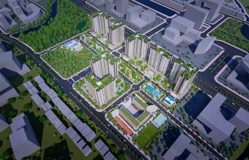 Phối cảnh dự án City Gate 5 với kết nối giao thông thuận tiện